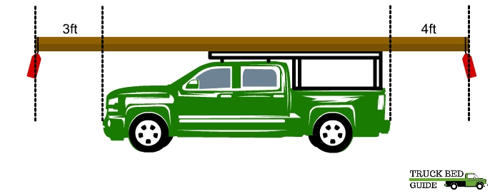 Lumber Stick Out of Your Truck Bed