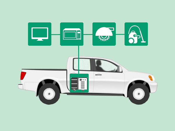 How To Install an Inverter in a Truck Bed