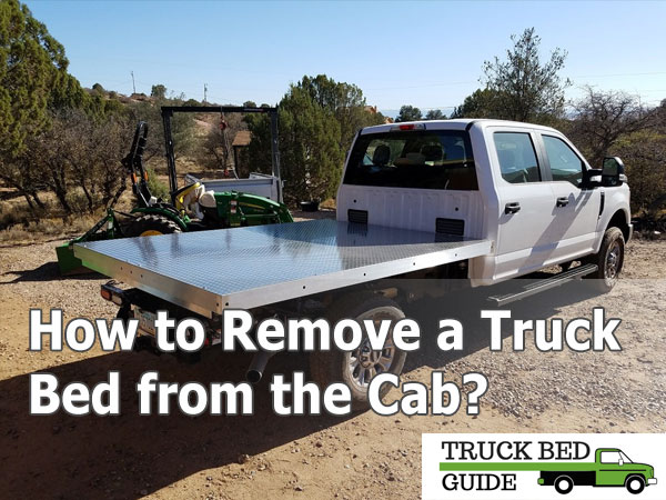 remove truck bed