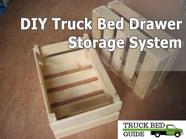 diy truck bed drawer storage