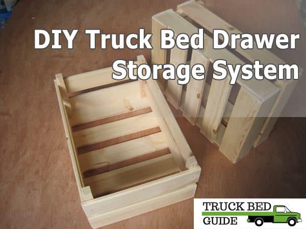 diy truck bed drawer storage